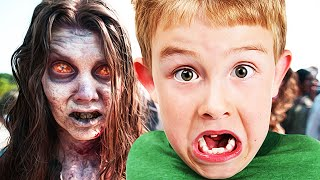 Messing with an ANGRY KID on Black Ops 2 ZOMBIES!