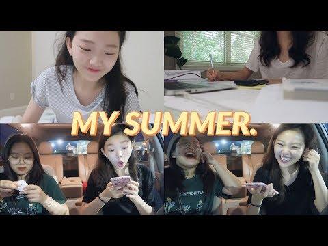 미국 고등학생의 여름방학 브이로그! | At Home Vlog