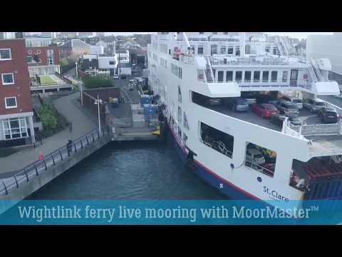 Wightlink ferry live mooring with MoorMaster™