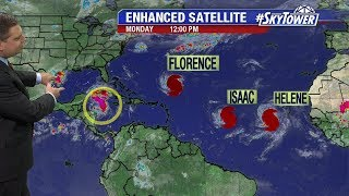 Hurricane Florence update & tropical weather forecast: September 10, 2018