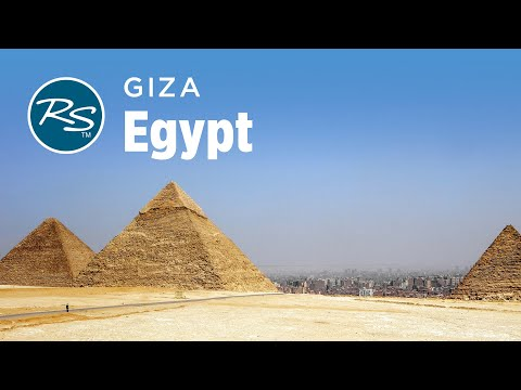 Giza, Egypt: The Pyramids and Great Sphinx – Rick Steves' Europe Travel Guide – Travel Bite