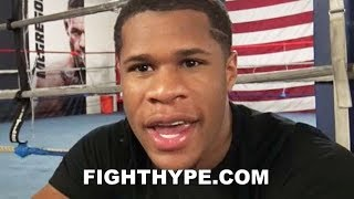 DEVIN HANEY REACTS TO TERENCE CRAWFORD STOPPING AMIR KHAN; SAYS CANELO, NOT CRAWFORD, IS #1 P4P
