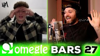INSANE Freestyle Rap For Strangers On Omegle Bars 27 | Harry Mack