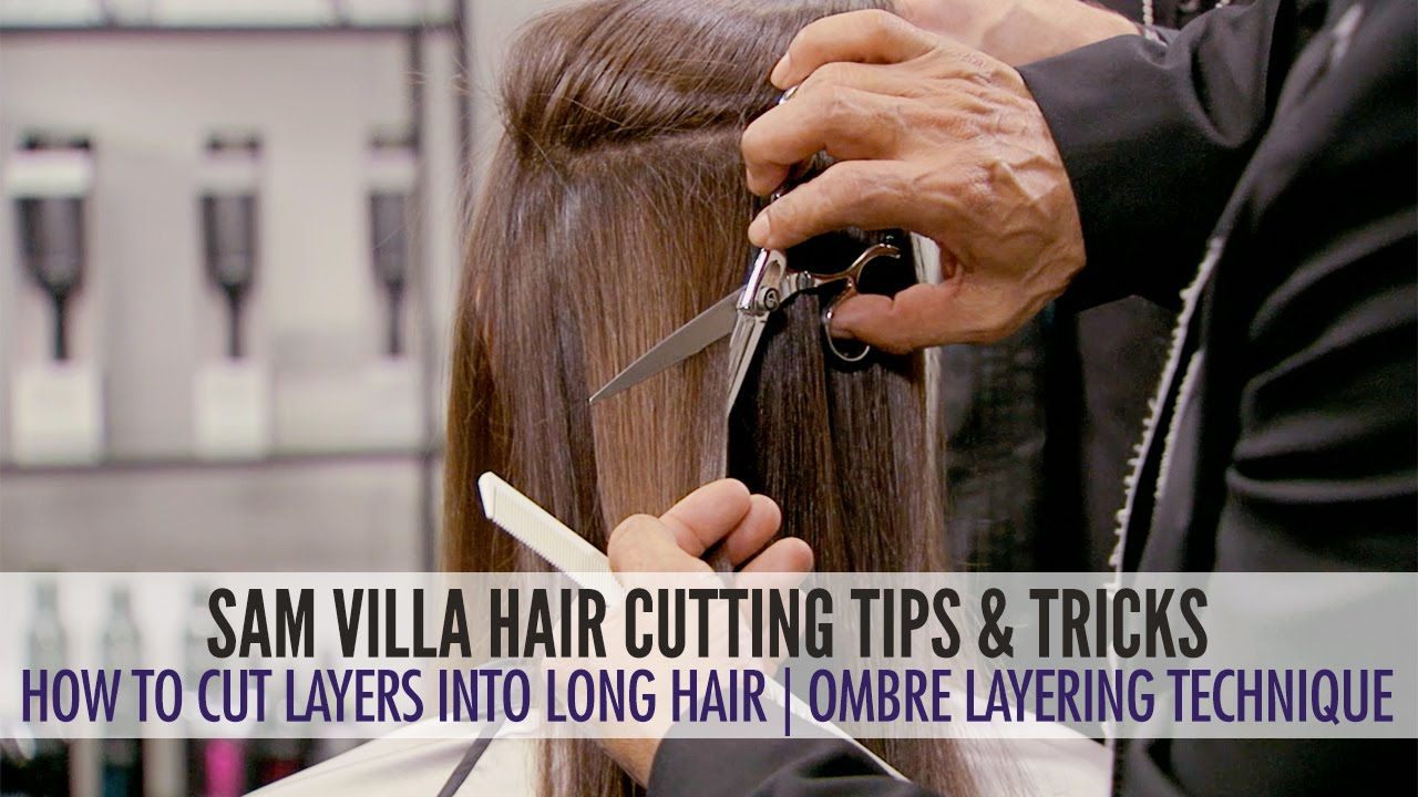 How To Cut Layers In Long Hair The Ombre Layering