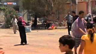 صور الدمار والخراب بأنحاء غزة
