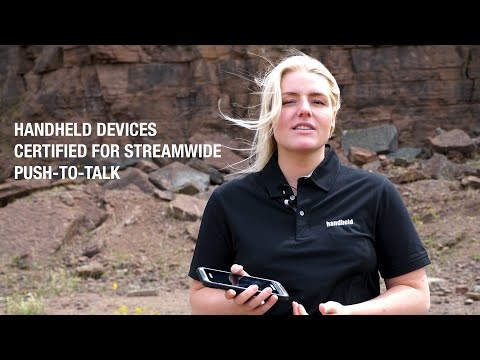 Handheld devices certified for Streamwide Push-to-Talk