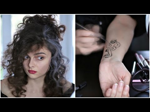 Bellatrix & Chats 💀 Get Ready With Me For Halloween