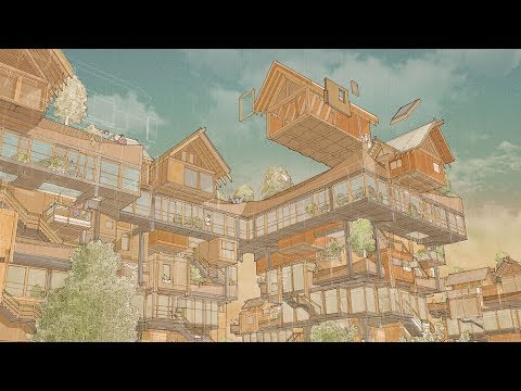 Matt Lucraft proposes Japanese-influenced modular building system to tackle housing scarcity