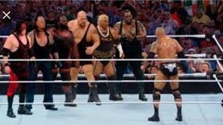 THE ROCK DEFEAT 6MONSTER OF WWE