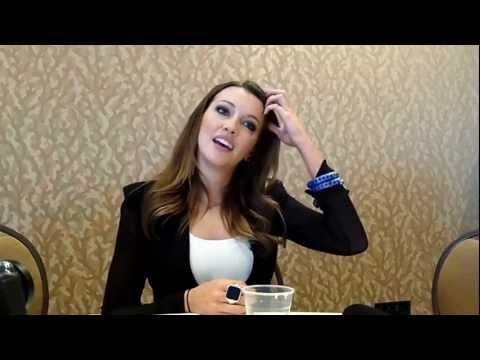 Interview With Katie Cassidy of The CW's Arrow at Comic-Con 2012 ...