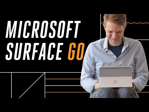 Microsoft Surface Go hands-on
