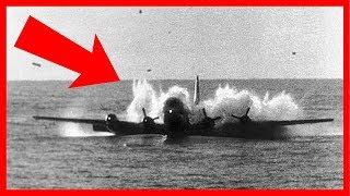 4 chiếc máy bay khổng lồ hạ cánh trên mặt nước thành công