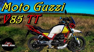 2019 Moto Guzzi V85 TT  | First Ride | Review | EN/DE Subs
