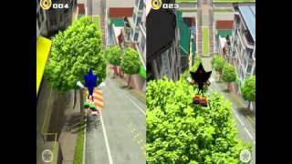 2 Player City Escape DreamCast Sonic Adventure 2