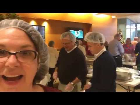 Karen Martin of Bioventus Stop Hunger Now Event 12-8-16