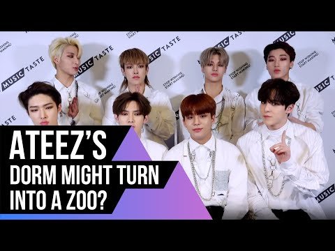 ATEEZ Answer ATINY Question From Twitter