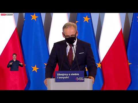 Koronawirus w Polsce. Konferencja prasowa Mateusza Morawieckiego i Adama Niedzielskiego