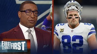 Cris Carter reacts to Jason Witten returning to the Dallas Cowboys   NFL   FIRST THING FIRST