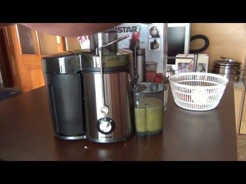 Rohnson Slow Juicer Review : Tristar SC-2283 (Licuadora en inox, 400W)
