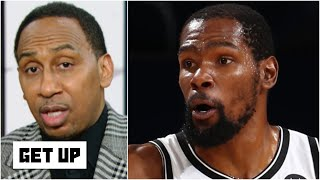 Stephen A. says it's the NBA 'Finals or bust' for the Nets | Get Up