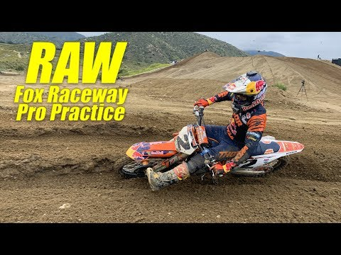 2019 Pro Motocross Practice RAW at Fox Raceway - Motocross Action Magazine