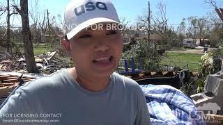 10-15-2018 Panama City, Fl Hurricane Michael destroys American dream, Thai lady just bought home