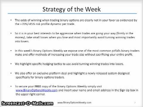 Pitfalls of binary options trading