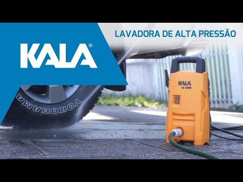 Lavadora de Alta Pressão Lk1305 1200W Kala - 127V - Vídeo explicativo