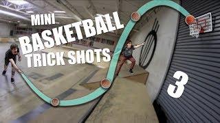 EPIC MINI BASKETBALL TRICKSHOTS 3!