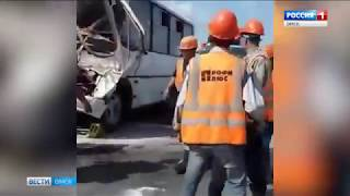 В Омском районе в результате дорожной аварии едва не сгорел человек