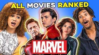 331 People Rank Their Top 10 Favorite Marvel MCU Movies | Generations React