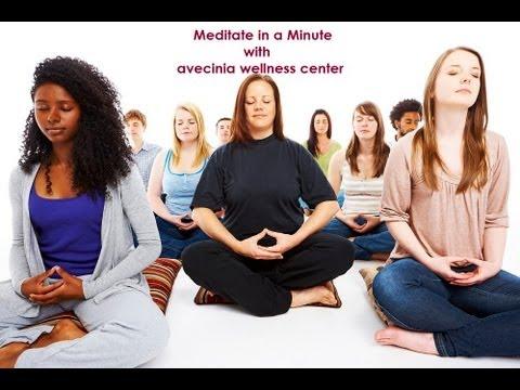 Meditate in a Minute- Meditation at avecinia in Clovis