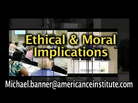 Reverse Mortgage Eduction: Ethics & Morals