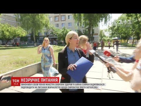 Уляна Супрун відмовилася коментувати питання ботулізму