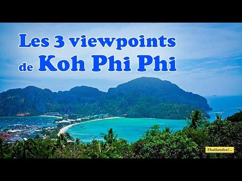 les viewpoints de koh phi phi