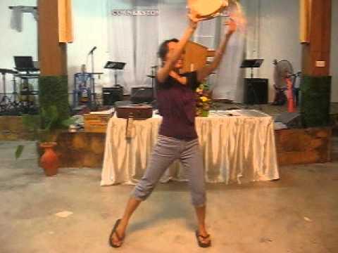 Tambourine Dancing Steps - YouTube