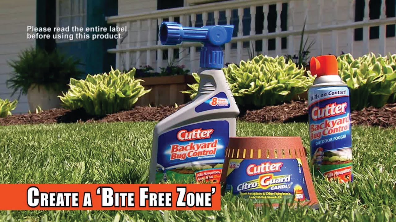 cutter 174 insect repellent backyard bug products
