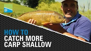 Video thumbnail for CATCH MORE Carp Shallow with Des Shipp Preston Innovations Match Fishing Videos