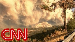 Wildfire evacuee: Our town is flattened