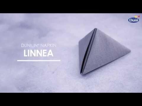 Napkin folding - Linnea