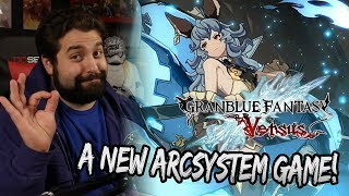 A NEW ARCSYSTEM FIGHTING GAME!!   Granblue Fantasy Versus Trailer Reaction!