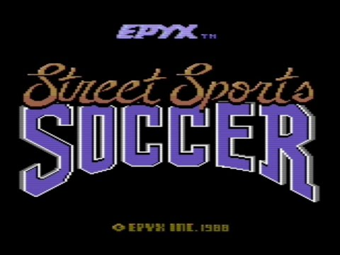 Street Sports Soccer (Commodore 64)- Review de RETROJuegos por Fabio Didone
