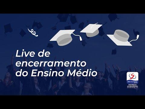 LIVE DE ENCERRAMENTO DO ENSINO MÉDIO