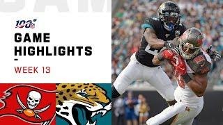 Buccaneers vs. Jaguars Week 13 Highlights | NFL 2019