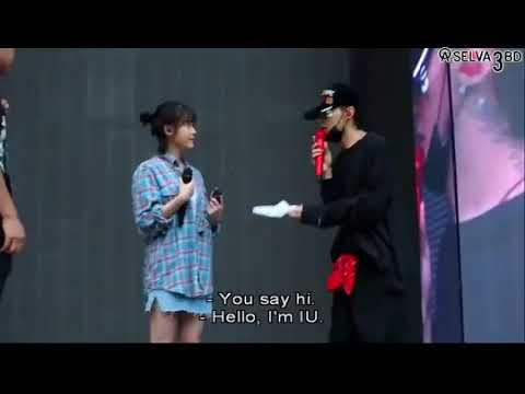 [EngSub BTS MOTTE] 아이유 IU & GD rehearsing to 'Missing You'
