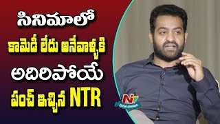 Jr NTR Counter to Critics of Aravindha Sametha Movie..
