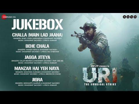 URI - The Surgical Strike   Audio Jukebox   Vicky Kaushal & Yami Gautam  Shashwat S & Aditya D