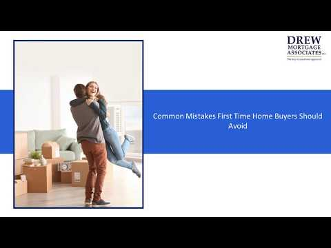 Common Mistakes First Time Home Owners Should Avoid