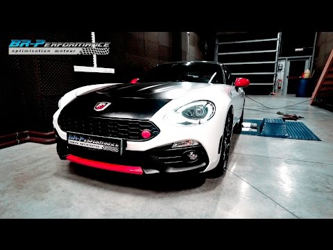 Abarth 124 Spider Stage 1 By BR-Performance