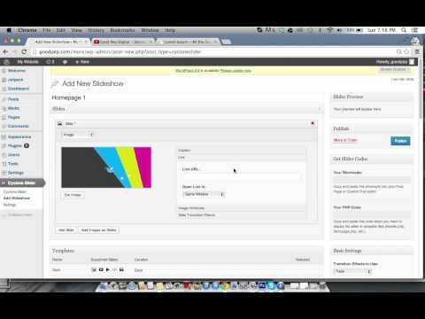 Simple Wordpress Tutorial - Homepage Slider